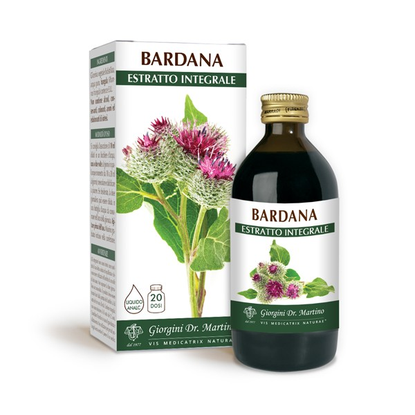 BARDANA ESTRATTO INTEGRALE 200 ml