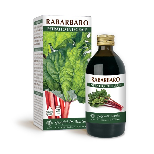 RABARBARO ESTRATTO INTEGRALE 200 ml