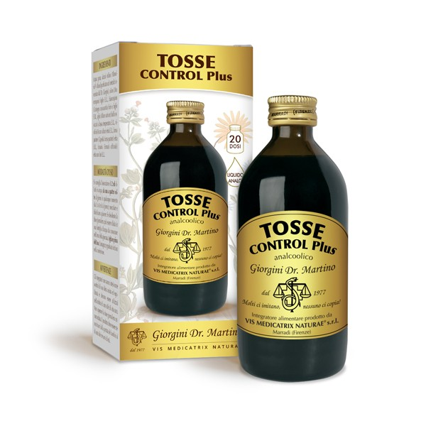 TOSSE CONTROL PLUS 200 ml liquido analcoolico