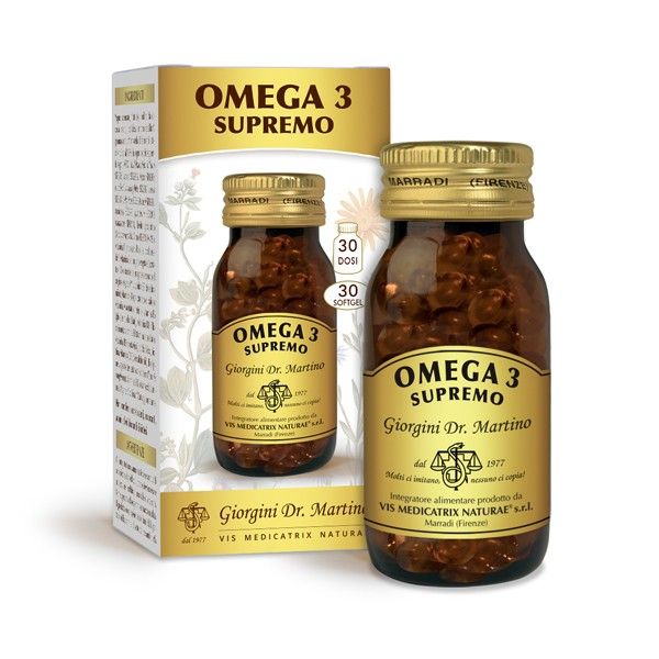 OMEGA 3 SUPREMO SOFTGEL